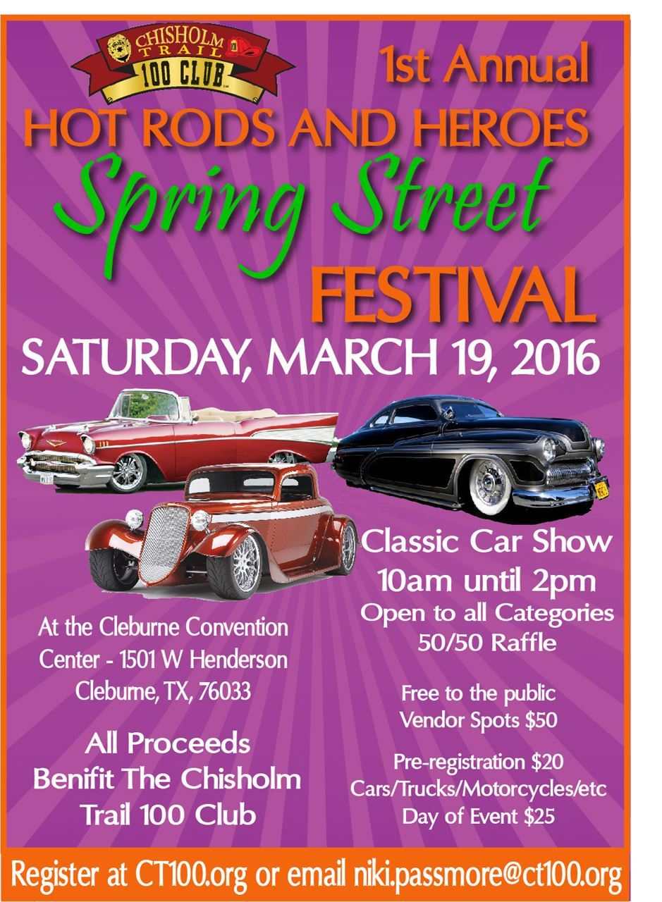Chisholm Trail Club Inc Hot Rods And Heroes Car Show And - Car show categories